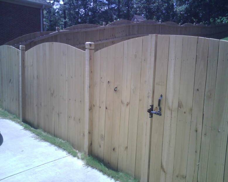 Removable Privacy Fence fences - k & r carpentry